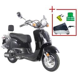 Alpha Motors Motorroller Retro Firenze, 50 ccm, 45 km/h, Euro 4, (Komplett-Set)