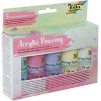 folia Acrylic Pouring-Farbe ́PASTELL ́, farbig sortiert