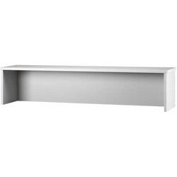 Thekenaufsatz für Schreibtisch 1600x800mm Grau