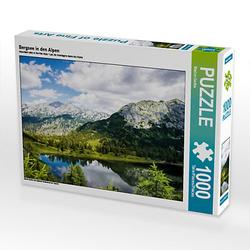 Bergsee in den Alpen Lege-Größe 64 x 48 cm Foto-Puzzle Bild von Marion Gartler Puzzle