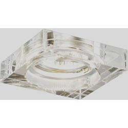 Paulmann 99913 Prem EBL Cristal Quadro Einbauleuchte GU10 105W Klar