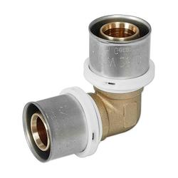 Pressfitting-Winkel 90° - 63 x 4,5 mm für MV-Rohr