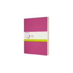 Moleskine Cahier XL 3er Set Blanko Kinetisches Pink