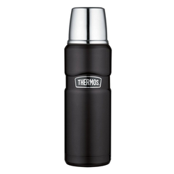 THERMOS Thermoflasche Thermos Isolierflasche 'King' schwarz 470 ml