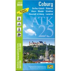 Coburg 1 : 25 000