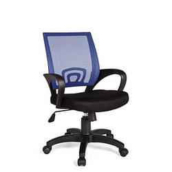 AMSTYLE Rivoli Bürostuhl blau