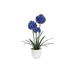 Kunstpflanze Schmucklilie Lila/Blau