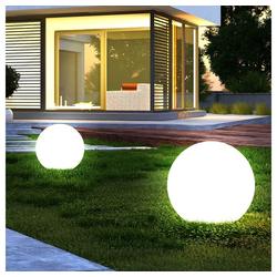 etc-shop LED Gartenstrahler, LED Außenbeleuchtung Außenleuchte Beleuchtung Gartenleuchte Lampe Leuchte 2er-Set
