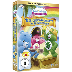 DVD Glücksbärchis - Die komplette Serie: Der größte Schatz der Glücksbärchis (7 Discs) Hörbuch