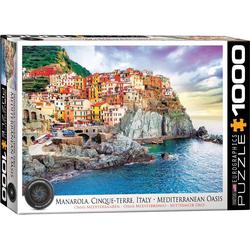 empireposter Puzzle Manarola Cinque Terre Italien - 1000 Teile Puzzle - 68x48 cm, 1000 Puzzleteile