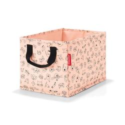 REISENTHEL® Aufbewahrungsbox storagebox kids Cats And Dogs Rose 18 L