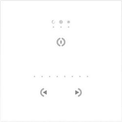 Zumtobel Licht DMX-Touchscreen-Steuerung TS CONTROLLER WHITE SEN