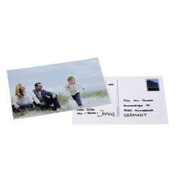 HAMA Postkartenaufkleber für 10x15 Fotos / 10 Stück
