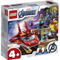 LEGO® Puzzle LEGO® Marvel Super Heroes 76170 Iron Man vs. Thanos, Puzzleteile