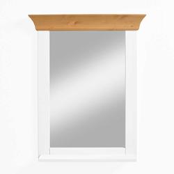 Badspiegel in Weiß Kiefer massiv Landhaus Design
