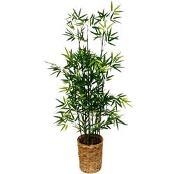 Kunstpflanze Bambus Bambus, I.GE.A., Höhe 120 cm