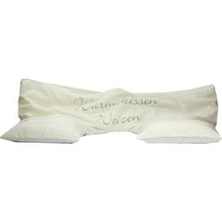 Dinkel-Weizen-Nacken-Wärmekissen mit Bezug