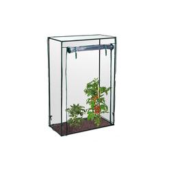 relaxdays Tomatengewächshaus Tomatengewächshaus für Garten und Balkon wei�
