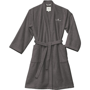 TOM TAILOR 0100300 Bademantel Kimono Größe: XL dark grey