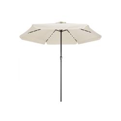 Kingsleeve Sonnenschirm, LED Beleuchtung natur