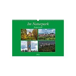 Im Naturpark Steigerwald (Wandkalender 2021 DIN A3 quer)