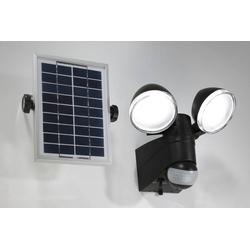 Duo Strahler mit Solarpanel und Bewegungsmelder