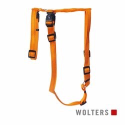 Wolters Geschirr Soft & Safe No Escape orange Panikgeschirr, Größe: S