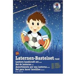 Laternen-Bastelset 24 'Fußballer'
