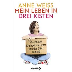 Mein Leben in drei Kisten als Taschenbuch von Anne Weiss