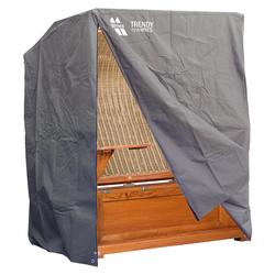 Strandkorb Schutzhülle für 21⁄2 Sitzer King Size, Dunkelgrau