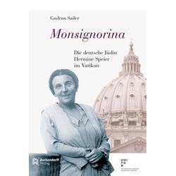 Monsignorina als Buch von Gudrun Sailer