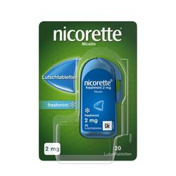 nicorette® Lutschtablette 2 mg zur Raucherentwöhnung 20 St