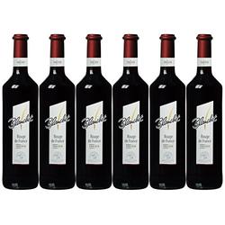 Blanchet Rouge de France Rotwein trocken mit fruchtigem Aroma 4500ml, 6er Pack
