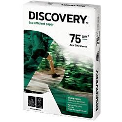 Discovery Eco-efficient Umweltfreundliches Kopier-/ Druckerpapier DIN A3 75 g/m² Weiß 500 Blatt