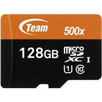 TEAM GROUP microSDXC 128GB Class 10 UHS-I + SD-Adapter