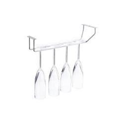 relaxdays Gläserhalter Weinglashalter für 4 Gläser