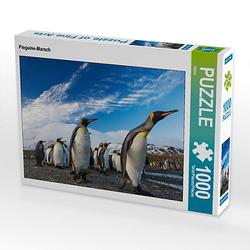 Pinguine-Marsch Lege-Größe 64 x 48 cm Foto-Puzzle Bild von Mehmet Sarialtin Puzzle