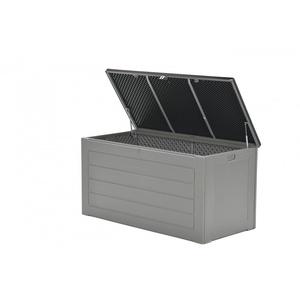 Garden Impressions JERSEY Auflagenbox Kissenbox Aufbewahrungsbox grau 680L