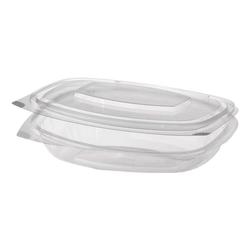Einweg-Salatschalen »pure« 250 ml, 50 Stück transparent, Papstar, 16.1x3.1x13.2 cm