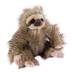 Teddys Rothenburg Kuscheltier Faultier langhaarig 26 cm flauschig Plüschfaultier Stofffaultier (Plüschtiere, Stofftiere)