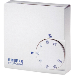 Eberle Hygrostat HYG-E 6001 Weiss, Thermo-Hygrometer, Weiss