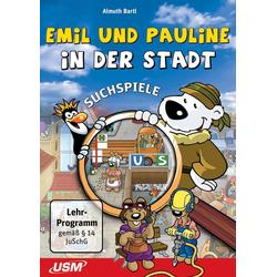 USM Emil und Pauline in der Stadt