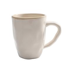 KARE Tasse Tasse Organic Weiss 11, Stein u. Keramik