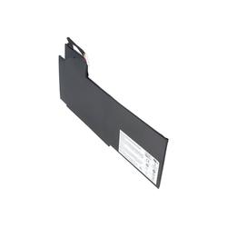 AccuCell Akku passend für MEDION BTY-L76, Li-Polymer, 11,1V Laptop-Akku