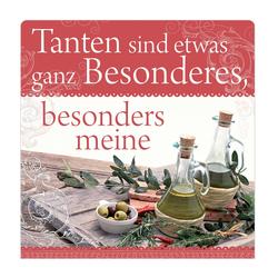 """H&H Romantisches Geschirrtuch """"Tanten sind..."""" Handtuch"""