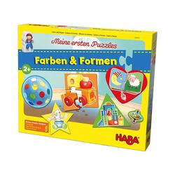 Haba Puzzle Meine ersten Puzzles - Farben & Formen, Puzzleteile
