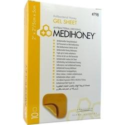 MEDIHONEY antibakterieller Gelverband 5x5 cm 10 St