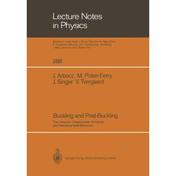 Buckling and Post-Buckling als Buch von Johann Arbocz/ Michel Potier-Ferry/ Josef Singer/ Viggo Tvergaard