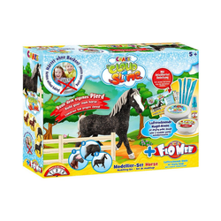 CRAZE Knete Cloud Slime meets Flo-Mee - Horse Set
