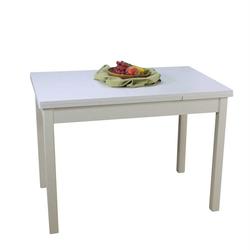 Küchentisch ausziehbar Weiß